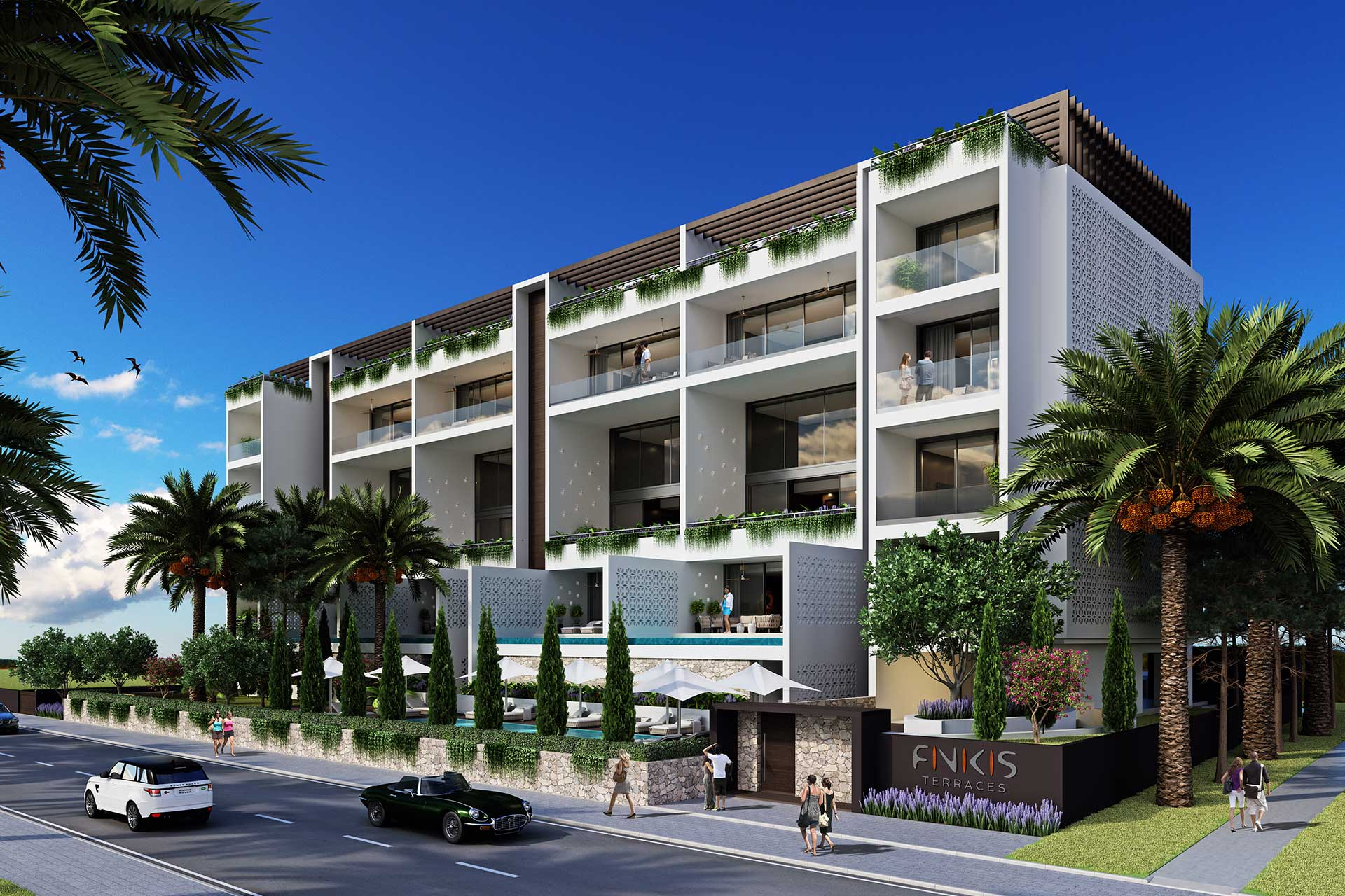 ELEMEC GBC - Projects, FINIKIS TERRACES