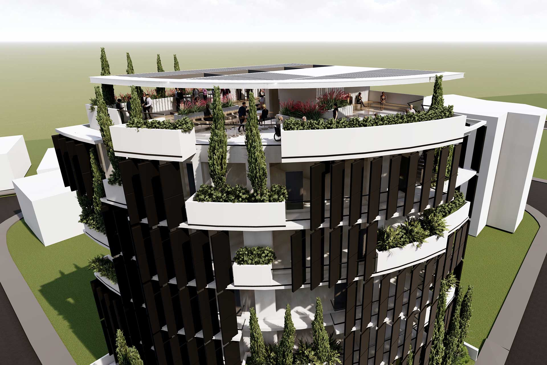 ELEMEC GBC - Projects, Imperio Tower
