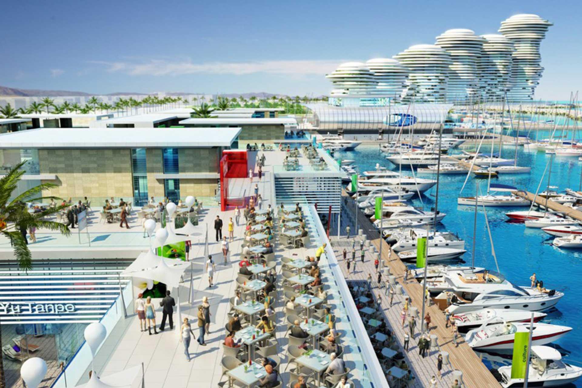 ELEMEC GBC - Projects, Larnaca Port and Marina