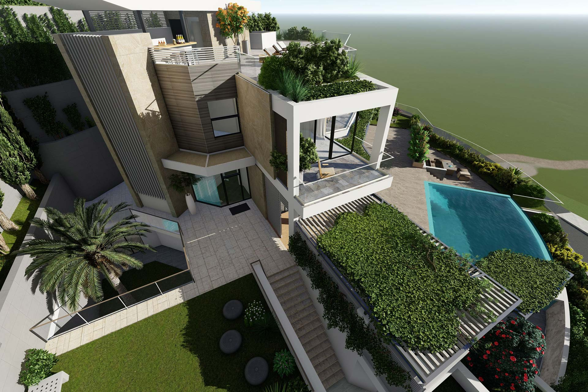 ELEMEC GBC - Projects, Sky Nest Villas